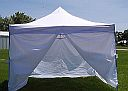 10 x 10 White Canopy - With Sides - 88001