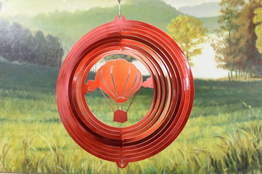17411-12inchHotAirBalloon-Red