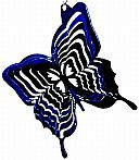 "3"" Itsy Bitsy Butterfly Wind Spinner 3 inch, wind spinner, 3"", made in usa"