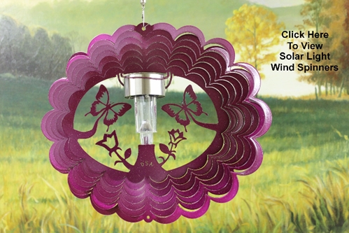 Solar Light Wind Spinners