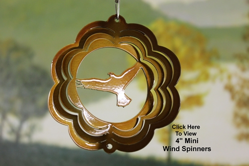 "4"" Mini Wind Spinners"